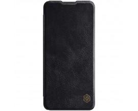 Husa Flip Cover Book Premium Nillkin Qin Compatibila Cu Samsung Galaxy A32 4G, Negru, Piele Ecologica