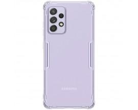 Husa Slim Spate Nillkin Nature Compatibila Cu Samsung Galaxy A52 4G / A52 5G, Silicon Transparent