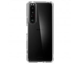 Husa Premium Spigen Ultra Hybrid Compatibila Cu Sony Xperia 1 III, Transparenta Cu Margini Negre