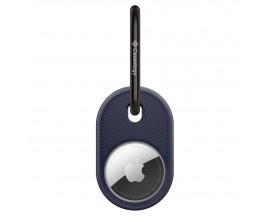 Husa Breloc Caseology By Spigen  Compatibila Cu Apple Airtag, Albastru Navy