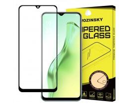 Folie Sticla Full Cover Wozinsky Compatibila Cu  Oppo A31 Cu Adeziv Pe Toata Suprafata Foliei Neagra