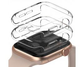 Set 2 X Husa Ringke Slim Compatibila Cu Apple Watch 4/5/6/se 40mm, 2 x Transparenta
