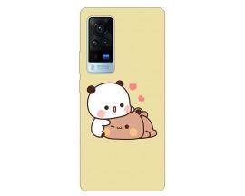 Husa Silicon Soft Upzz Print Compatibila Cu Vivo X60 Model Teddy