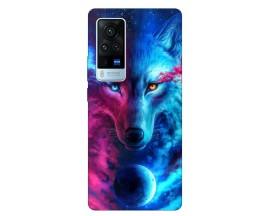 Husa Silicon Soft Upzz Print Compatibila Cu Vivo X60 Pro Model Wolf