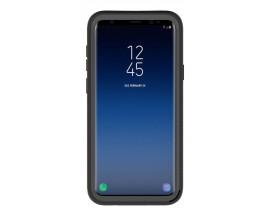 Husa Upzz Techsuit Defense 360 Compatibila Cu Samsung Galaxy S9+ Plus, Folie Protectie Inclusa, Negru