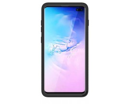 Husa Upzz Techsuit Defense 360 Compatibila Cu Samsung Galaxy S10, Folie Protectie Inclusa, Negru