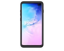 Husa Upzz Techsuit Defense 360 Compatibila Cu Samsung Galaxy S10+ Plus, Folie Protectie Inclusa, Negru