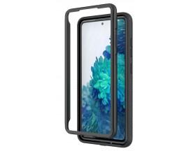 Husa Upzz Techsuit Defense 360 Compatibila Cu Samsung Galaxy S20+ Plus, Folie Protectie Inclusa, Negru