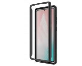 Husa Upzz Techsuit Defense 360 Compatibila Cu Samsung Galaxy Note 20, Folie Protectie Inclusa, Negru