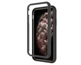 Husa Upzz Techsuit Defense 360 Compatibila Cu iPhone 12 Pro Max, Folie Protectie Inclusa, Negru