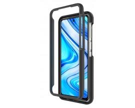 Husa Upzz Techsuit Defense 360 Compatibila Cu Xiaomi Redmi Note 9 Pro / Note 9 Pro Max / Note 9s, Folie Protectie Inclusa, Negru
