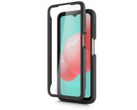 Husa Upzz Techsuit Defense 360 Compatibila Cu OnePlus 9, Folie Protectie Inclusa, Negru