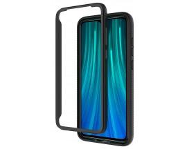 Husa Upzz Techsuit Defense 360 Compatibila Cu Xiaomi Redmi Note 8 Pro, Folie Protectie Inclusa, Negru