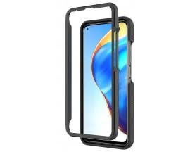 Husa Upzz Techsuit Defense 360 Compatibila Cu Xiaomi Mi 11, Folie Protectie Inclusa, Negru