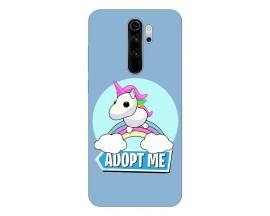 Husa Silicon Soft Upzz Print Compatibila Cu Xiaomi Redmi 9 Model Pink Unicorn