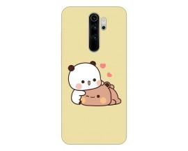 Husa Silicon Soft Upzz Print Compatibila Cu Xiaomi Redmi 9 Model Teddy