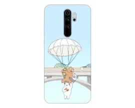 Husa Silicon Soft Upzz Print Compatibila Cu Xiaomi Redmi 9 Model Three Bears