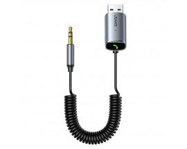 Receptor Audio Wireless Usams Bluetooth 5.0 Jack 3.5mm Gri - US-SJ504