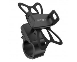 Suport Telefon Pentru Bicicleta Yesido, Negru - C42