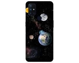 Husa Silicon Soft Upzz Print Compatibila Cu OnePlus Nord N10 5G Model Earth
