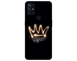 Husa Silicon Soft Upzz Print Compatibila Cu OnePlus Nord N10 5G Model Queen