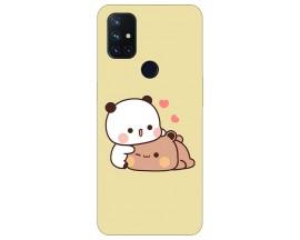 Husa Silicon Soft Upzz Print Compatibila Cu OnePlus Nord N10 5G Model Teddy