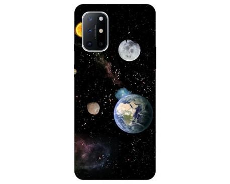 Husa Silicon Soft Upzz Print Compatibila Cu OnePlus 8T Model Earth