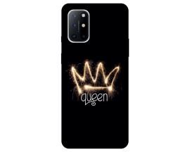 Husa Silicon Soft Upzz Print Compatibila Cu OnePlus 8T Model Queen
