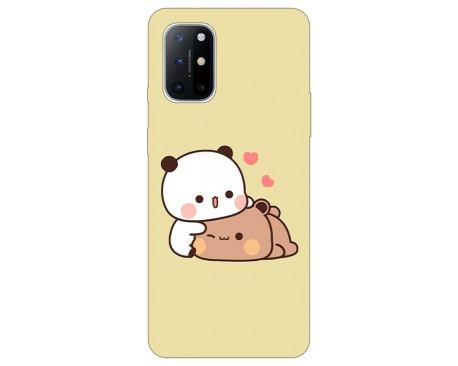 Husa Silicon Soft Upzz Print Compatibila Cu OnePlus 8T Model Teddy