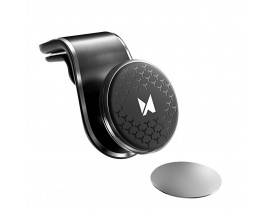 Suport Auto Magnetic Wozinsky Pentru Masina, Cu Prindere In Ventilatie, Negru Wmh-03
