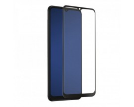 Folie Premium Mr. Monkey Sticla Securizata Compatibila Cu Samsung Galaxy A22 4G, Transparenta Cu Margine Neagra