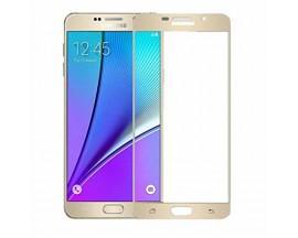 Folie sticla full cover MIXON Samsung A7 2016 Gold