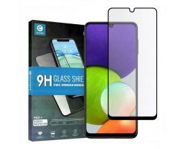 Folie Sticla Full Cover Full Glue Mocolo  Compatibila Cu Samsung Galaxy A22 4G