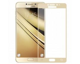 Folie sticla Full Cover MIXON Samsung A7 2017 Gold