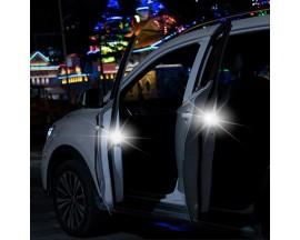 Set 2 x Lumina de siguranta Baseus, Car Door Open, Argintiu - 12671