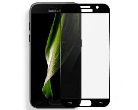 Folie sticla Full Cover MIXON Samsung A7 2017 Negru