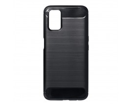 Husa Spate Upzz Carbon Pro Compatibil Cu Oppo A72 5G, Negru