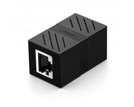 Conector de extensie UGREEN NW114 Ethernet RJ45 , 8P / 8C, Cat.7, UTP, Negru - 823901