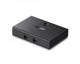 Switch USB 2in1 2.0 UGREEN, Negru - 3833450