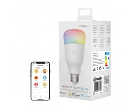 Bec LED inteligent Yeelight 1S YLDP15YL, Control 3G/4G, Wi-Fi, E27, 8.5W, 800 lm, A+, lumina alba calda (2700K) - 786446