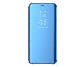 Husa Tip Carte S View Mirror Samsung Compatibila Cu Galaxy A22 4G, Albastru
