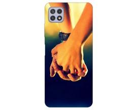 Husa Silicon Soft Upzz Print Compatibila Cu Samsung Galaxy A22 5G Model Together