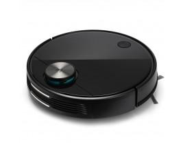 Robot de aspirare Xiaomi Viomi V3, Wi-Fi, Navigatie laser LSD, Mop, Bariere virtuale, MiHome, 40W, Li-ion, 4900mAh, Negru