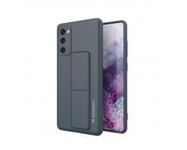 Husa Spate Wozinsky Compatibila Cu Samsung Galaxy A71, Cu Stand Metalic Pe Spate, Protectie La Camera - Navy Blue