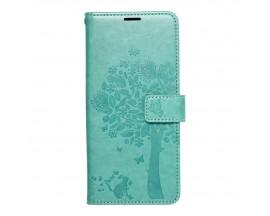Husa Flip Cover Forcell Mezzo Compatibila Cu Samsung Galaxy A22 4G, Model Tree Verde