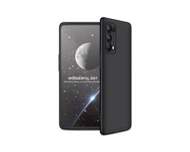 Husa Upzz Gkk 360 Compatibila Cu Oppo Reno 5 Pro 5G, Negru Folie Pentru Display Inclusa