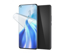 Folie Silicon Premium Neo Flex Spigen Pentru Xiaomi Mi 11 / Mi 11 Ultra, Transparenta Case Friendly 2 Bucati In Pachet