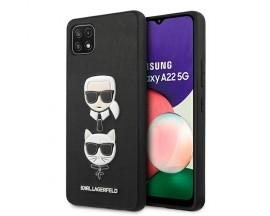 Husa Spate Karl Lagerfeld Compatibila Cu Samsung Galaxy A22 5G, Negru - 9018597