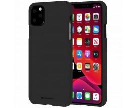 Husa Spate Mercury Goospery Soft Jelly Compatibila Cu iPhone 12 Pro, Negru