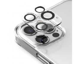 Set 3 x Folie Sticla Securizata Pentru Camera Ringke Compatibila Cu iPhone 12 Pro Max, Transparenta
